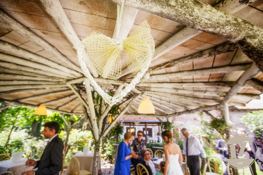 country chic wedding in italy
