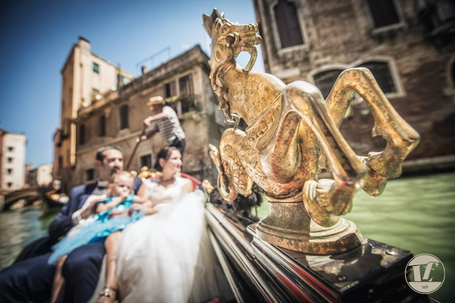Intimate wedding in Venice Italy