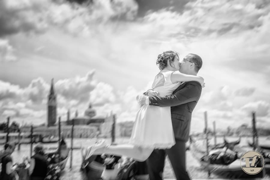 Venice elopement photography