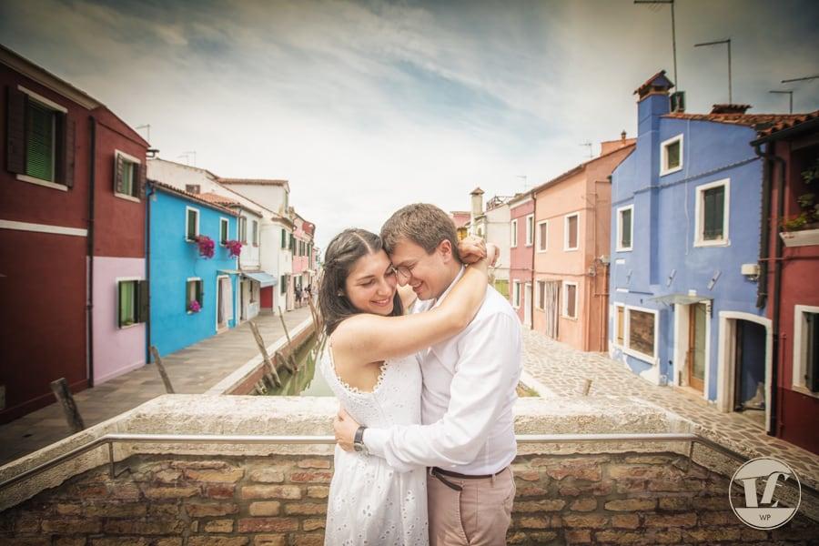 Burano surprise marriage proposal