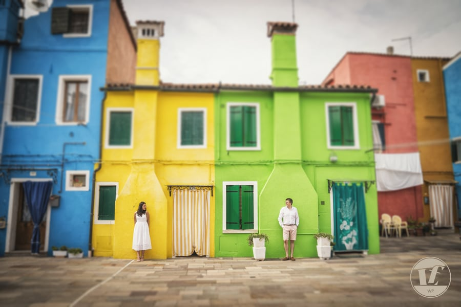 Burano surprise marriage proposal