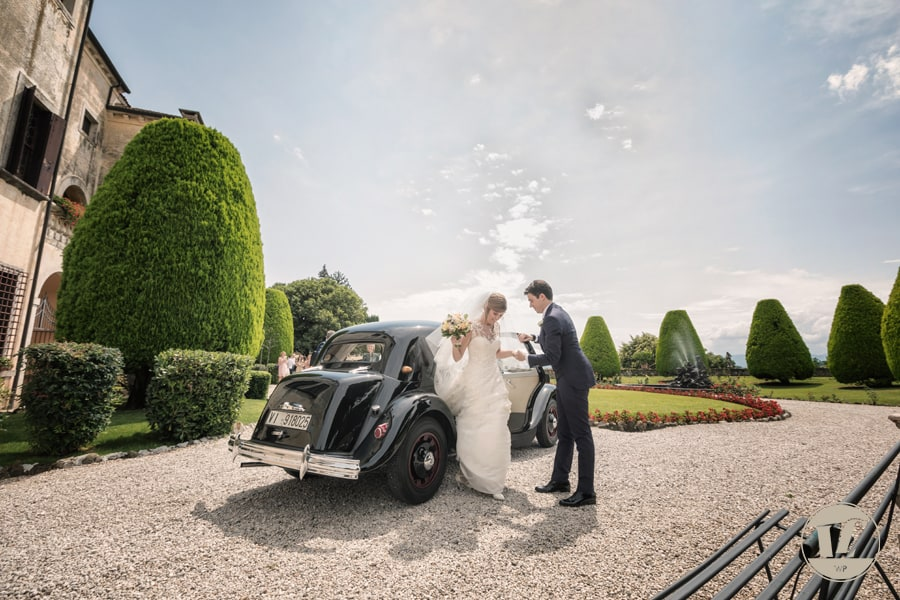 Vicenza Italy wedding photographer - Villa Godi Malinverni