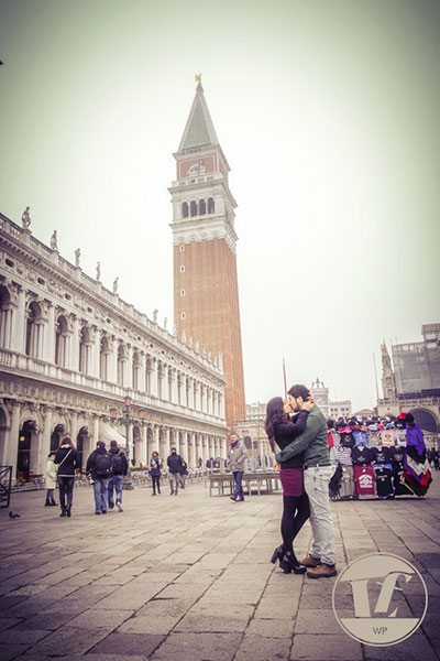 Venice surprise proposal photographer