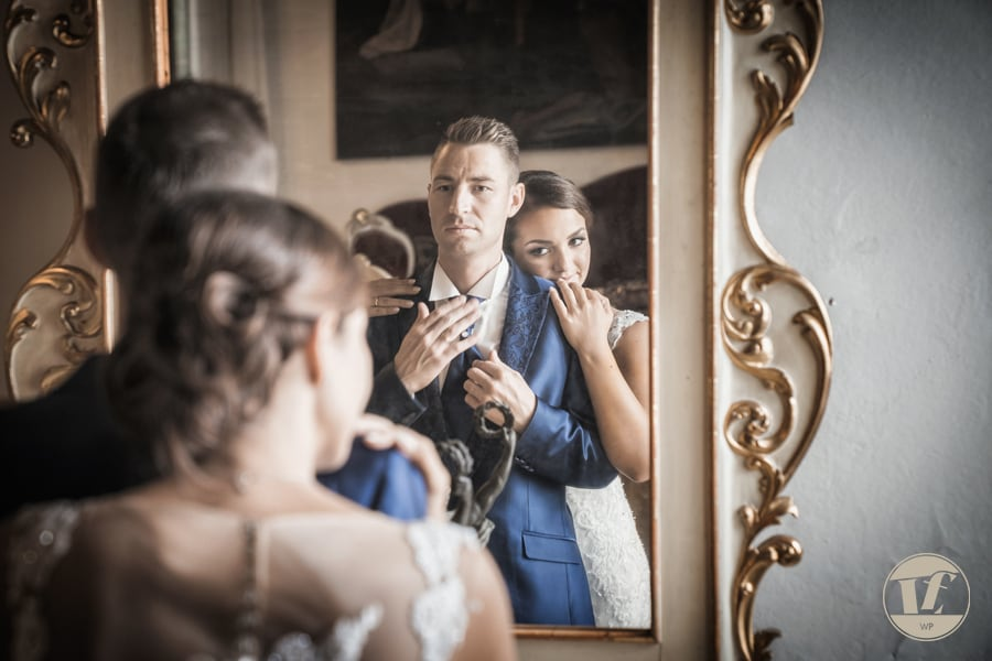 Wedding at Villa Godi Piovene, Vicenza, Veneto, Italy. Luca Fabbian destination wedding photographer.