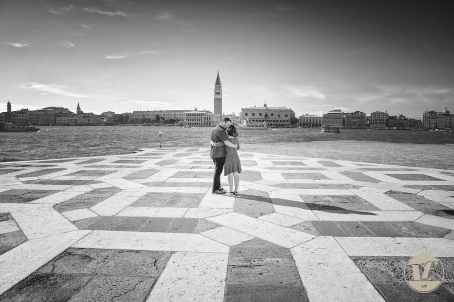 San Giorgio Venice engagement photography
