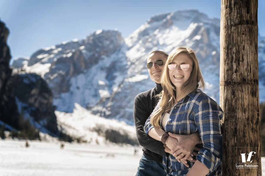 lake braies engagement photographer