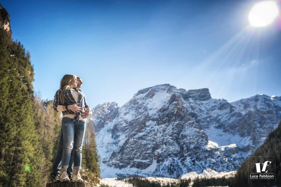 dolomites couple photographer