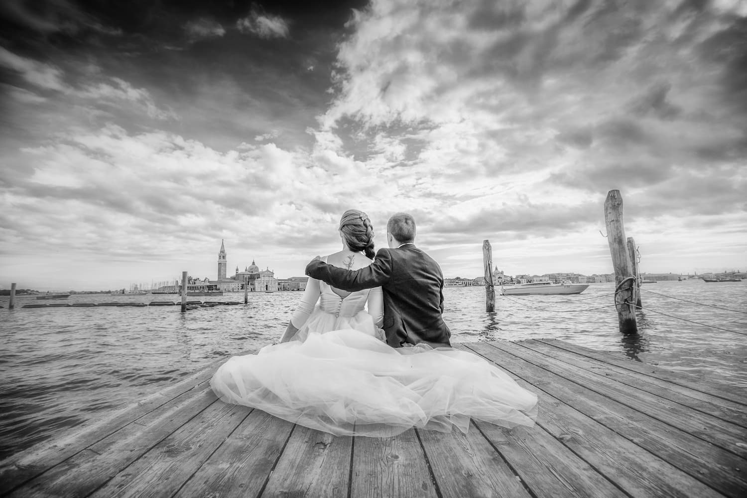 elopement in Venice Italy photographed by Luca Fabbian