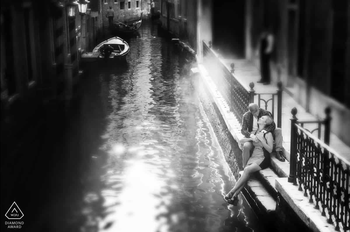Venice Italy engagement photographer