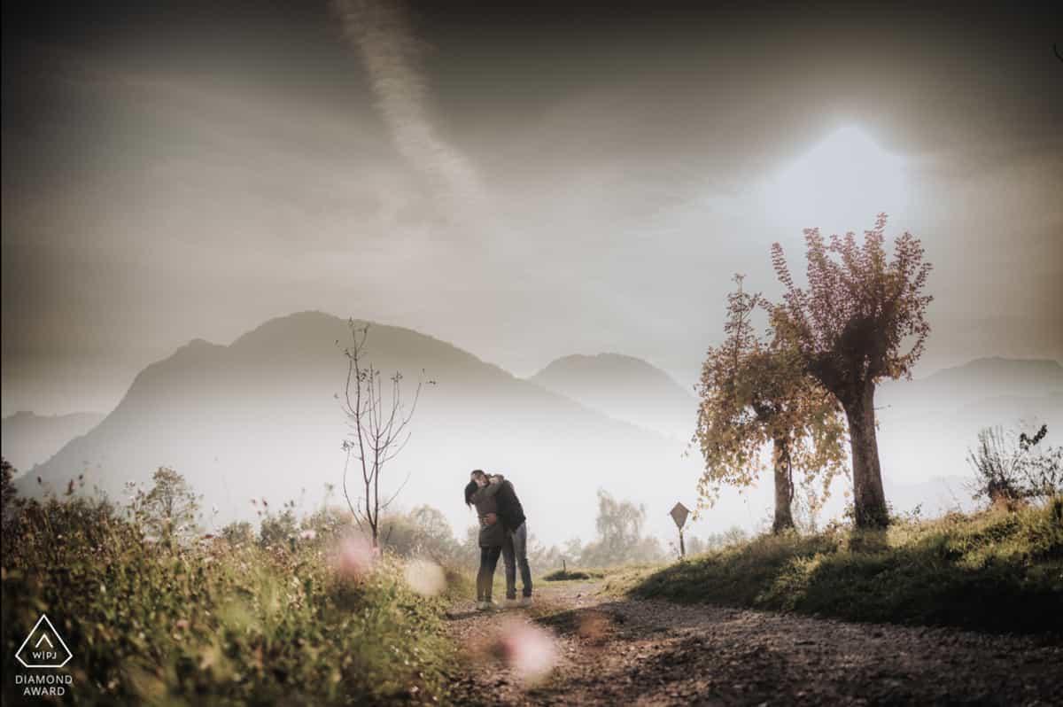 Lake Garda engagement photographer