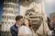 Wedding photo at piazza dei Miracoli - Pisa - Tuscany