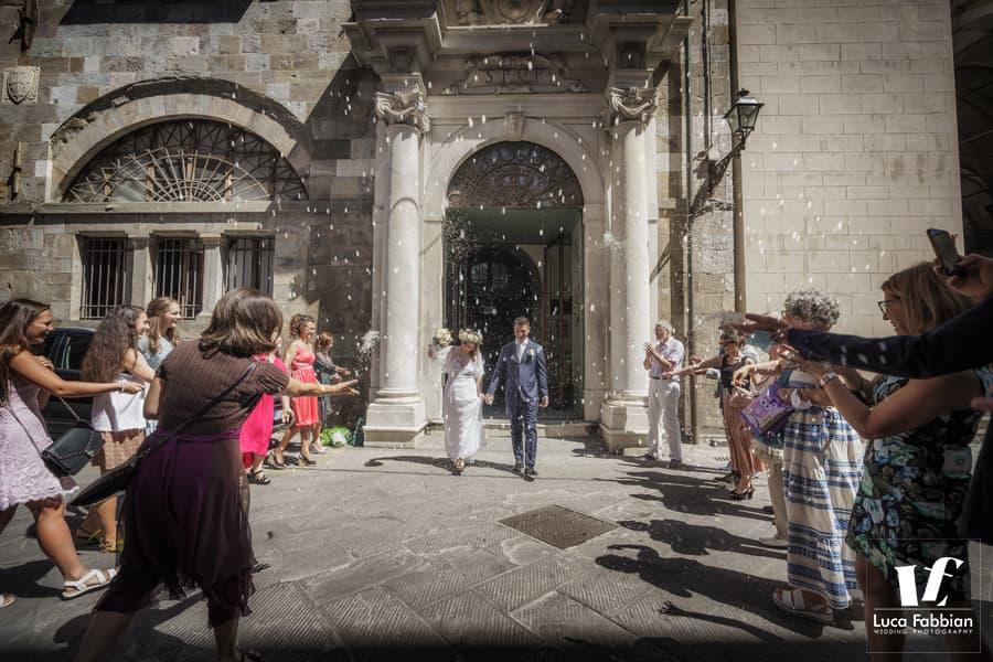 wedding ceremony in Pisa - Tuscany