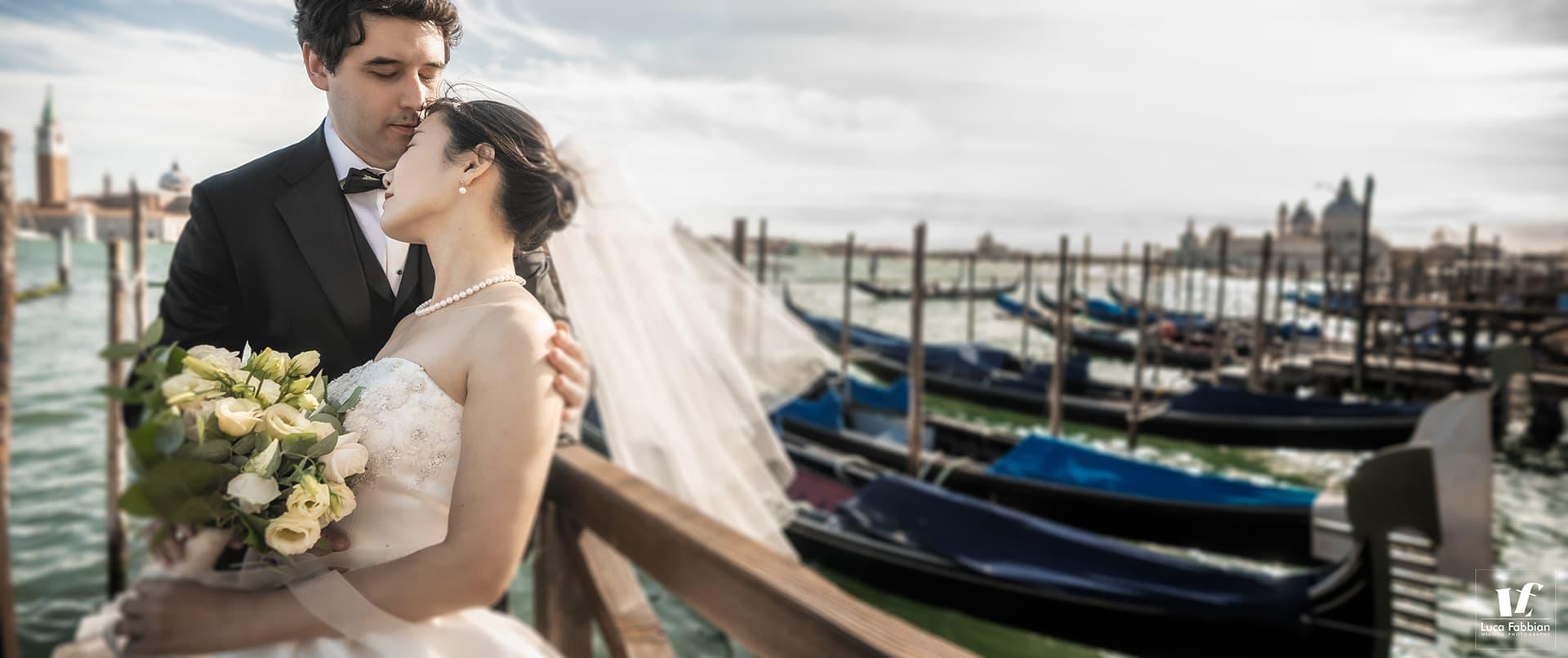 Wedding photo shoot in Venice Italy
