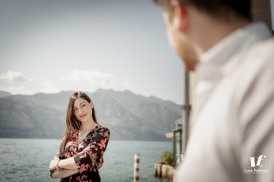 Lake Garda pre wedding photoshoot