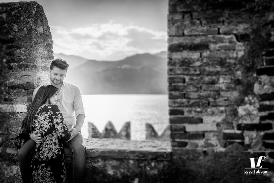 Malcesine pre wedding photoshoot