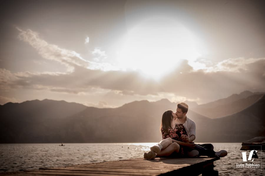 Lake Garda engagement photoshoot